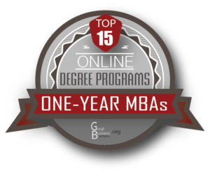 1 year online mba