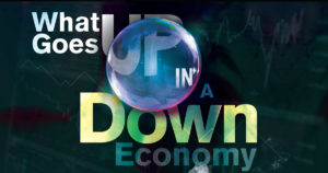 What Goes Up in a Down Economy