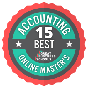 best masters in accounting online