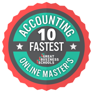 1 year accounting masters program