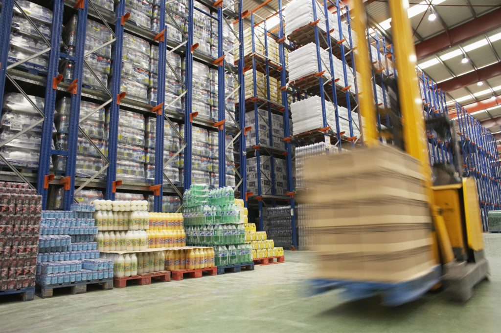fork lift supply chain