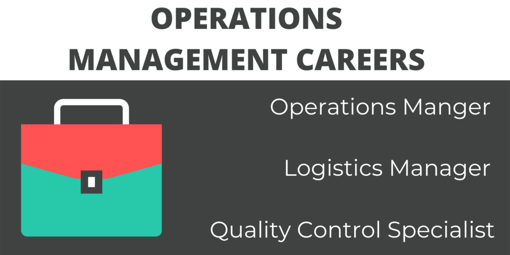 general and operations managers degree