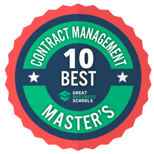 masters degree in contract management online